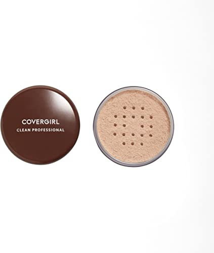 COVERGIRL Professional Loose Finishing Powder, Translucent Light Tone, Sets Makeup, Controls Shine, Won't Clog Pores,...