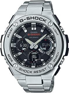 Casio G-Shock G-Steel Solar Analog Digital Men's Watch (Black) GST-S110D-1ADR / GSTS110D-1A