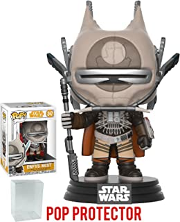 Funko Pop! Star Wars: Solo - Enfys Nest Vinyl Figure (Bundled with Pop Box Protector Case)