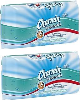 Charmin freshmates flushable 80 sheets 2pack