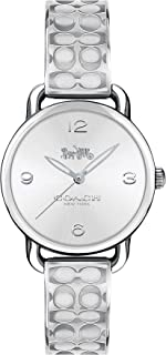 Coach WOMEN'S SILVER & WHITE DIAL STAINLESS STEEL WATCH - 14502891