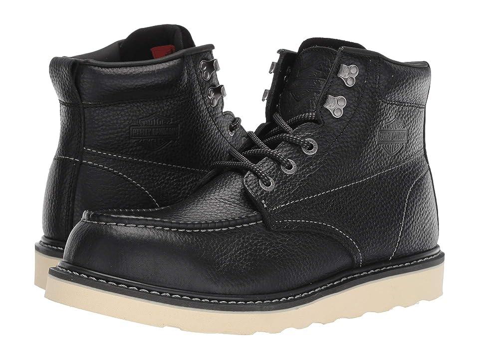 Harley-Davidson Bosworth Composite Toe (Black) Men