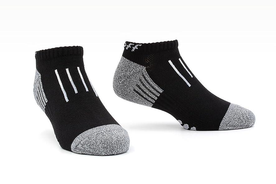 の間で飼い慣らす解き明かすTeeoff Men's Low Cut No Show Athletic Performance Socks メンズローカットノーショーアスレチックパフォーマンスソックス