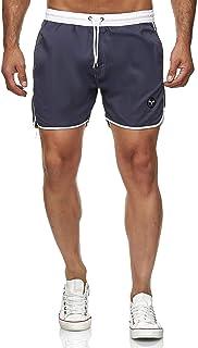 Generies Pantaloncini da Bagno Uomo Asciugatura Veloce Mare Beach Calzoncini da Bango Boxer Fodera Rete con Taschino e Coulisse Trunks