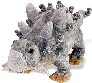 Wild Republic Ankylosaurus Dinosaur Stuffed Animal, Plush Toy, Gifts for Kids, Dinosauria 15
