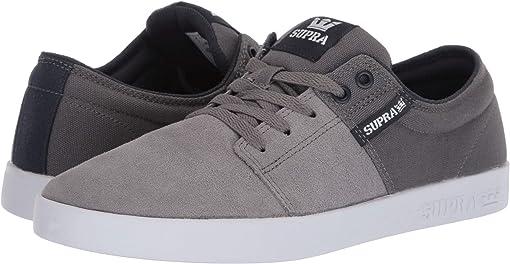Grey/Navy/White