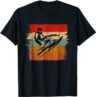 Best Vintage Jet Ski Paint Stripes Water Sports T Shirt
