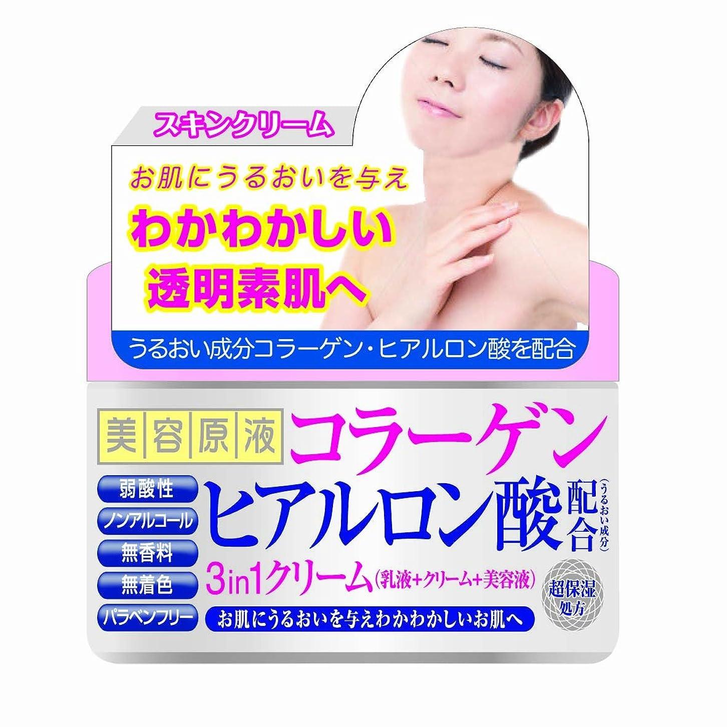 オプショナル新鮮な密美容原液 スリーインワンクリームCH(コラーゲン?ヒアルロン酸) 180g
