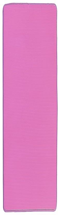 南東寓話安心させる大島屋 キッチンマット ふわり~な キッチンマット ピンク 約45×180cm