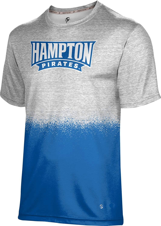 ProSphere 25% OFF Hampton University Men's Spray Performance free T-Shirt Ov