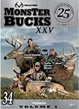 Realtree Monster Bucks XXV Volume 1 - Deer, Elk, Big Game, Hunting Video DVD Collection Production