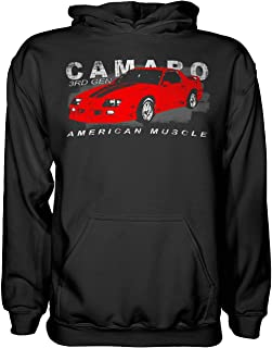 3rd Third Gen Chevy Camaro Hoodie Sweatshirt