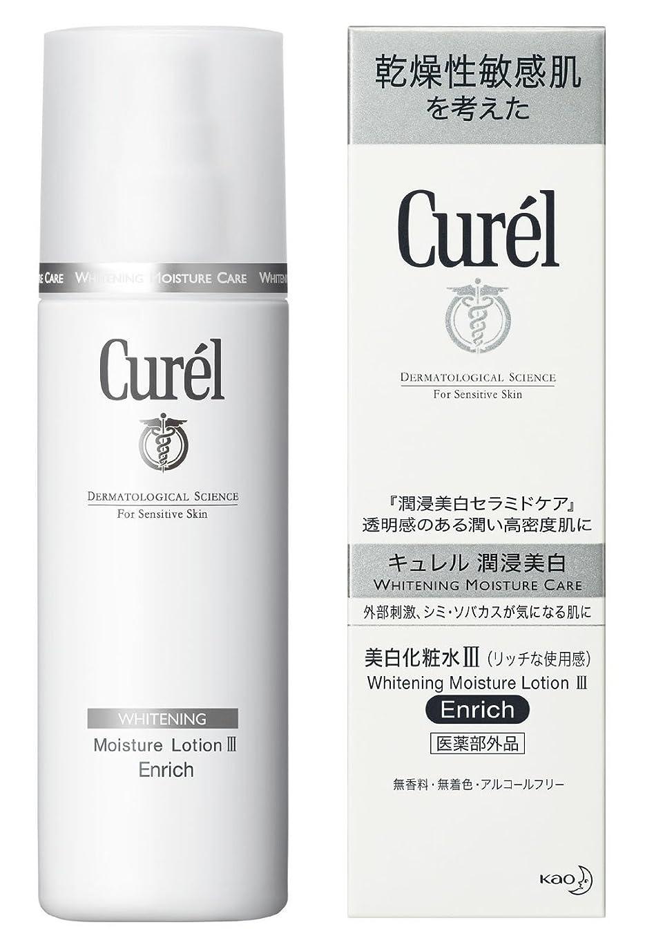 サークルアレルギー性すり減る花王 キュレル 美白化粧水 140mL III リッチ