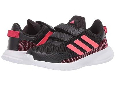 adidas Kids Tensaur Run (Infant/Toddler) (Core Black/Signal Pink/Footwear Pink) Girl