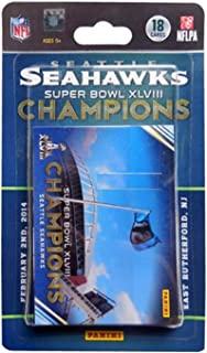 Panini Seattle Seahawks Super Bowl XLVIII Champions 18-Card Trading Card Set