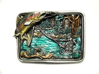 trout belt buckle