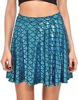 Best mermaid print mini skirt Reviews