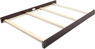 Full Size Conversion Kit Bed Rails for Delta Children Cribs (Dark Chocolate)