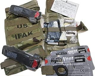 USGI SURPLUS Army OCP Multicam First AID KIT IFAK II Medic Pack Scorpion W2 Complete Set
