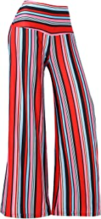 Women's Stretchy Wide Leg Palazzo Lounge Pants