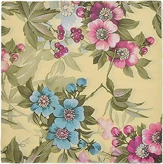 Towashine Vintage Floral Printed Paper Napkins Serviettes Luncheon Napkins Decorative Decoupage for Wedding Dinner Tea Party Crafts, 20 Count, 13x13 Inch