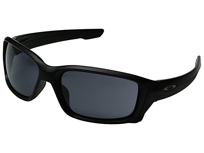 Oakley Straightlink (Matte Black/Grey) Fashion Sunglasses
