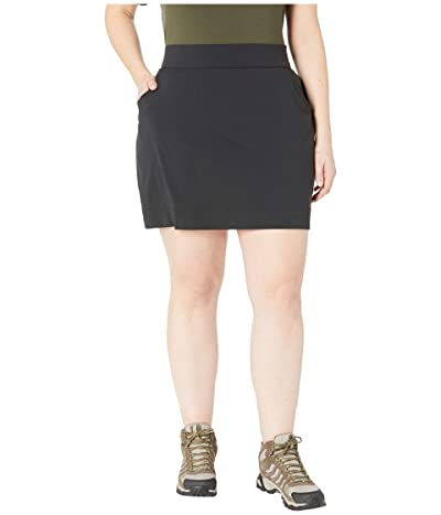 Columbia Plus Size Anytime Casualtm Stretch Skort (Black) Women