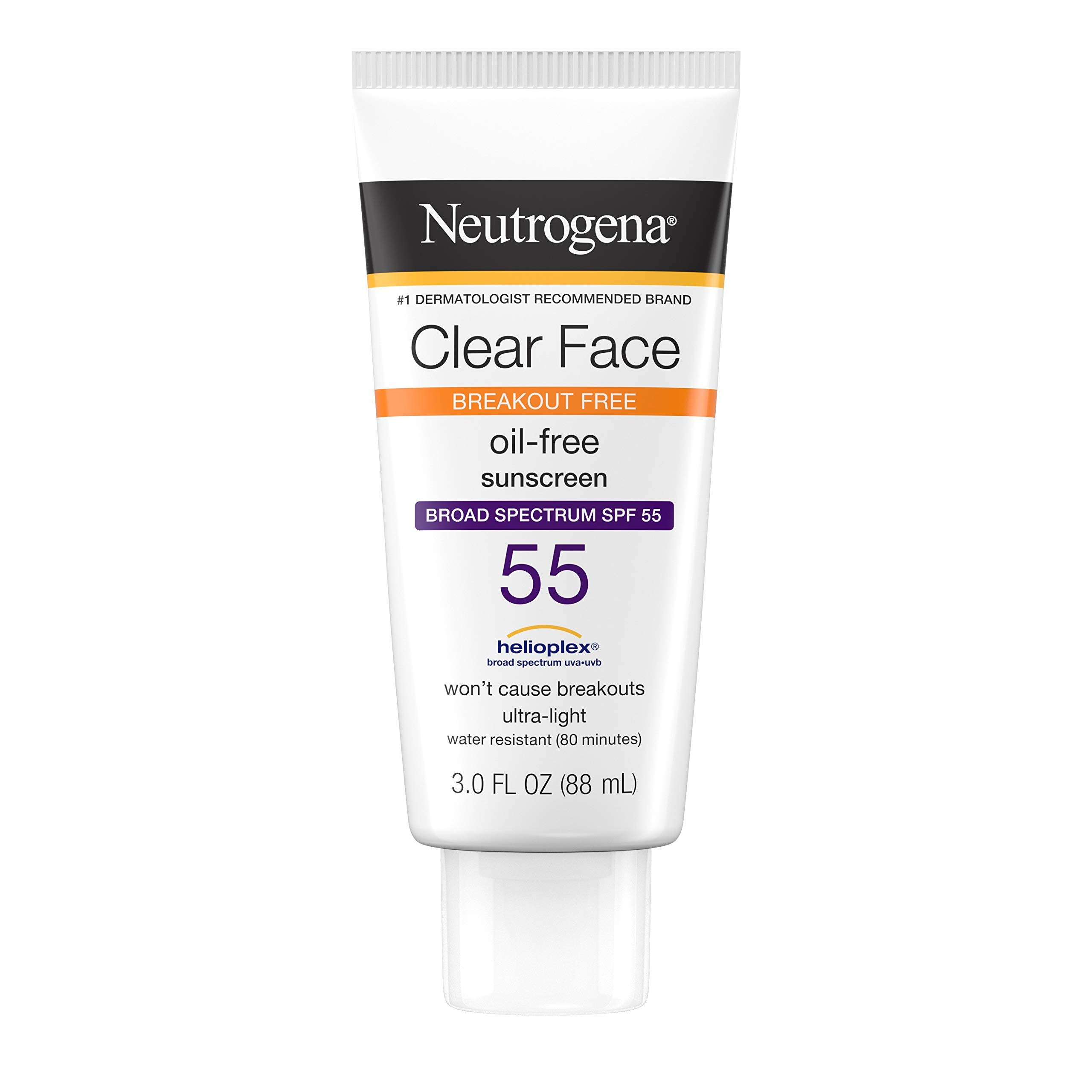 Neutrogena Sunscreen Acne Prone Spectrum Fragrance Free
