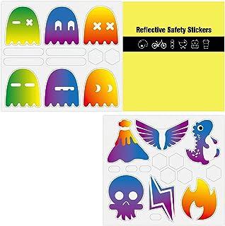 Reflecterende Stickers Hoge Zichtbaarheid Zelfklevende Stickers Waarschuwing Reflecterende Sticker Waterdichte Veiligheids...