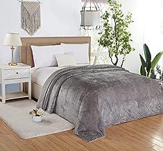 Soft Flannel Bed Blanket, King Size 200x220 cm