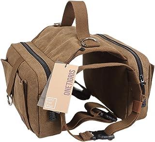 615ef9ea455 OneTigris Dog Pack Hound Travel Camping Hiking Backpack Saddle Bag Rucksack  for Medium   Large Dog