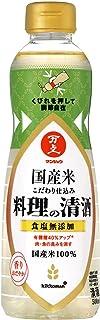 万上 国産米こだわり仕込み料理の清酒 500ml