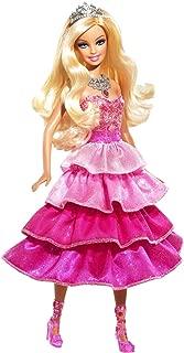 Barbie Sparkle Lights Pink Princess Doll