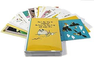 24 Funny Birthday Card Assortment - Bulk Set Birthday Cards - Boxed Set of 24 Cards & 25 Envelopes - Stonehouse Assortment #1
