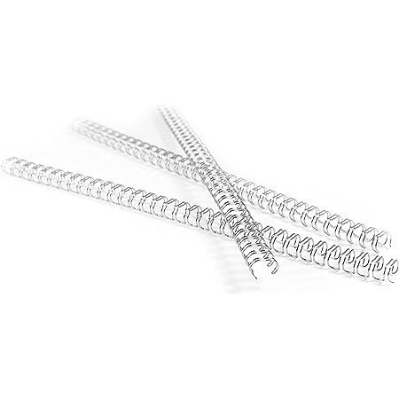 PAVO Boîte de 100 Anneaux métalliques 14.3 mm Blanc