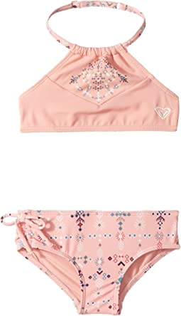 Boho Baby Crop Top Swim Set (Toddler/Little Kids)