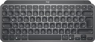 Logitech MX Keys Mini Minimalistyczna Bezprzewodowa Podświetlana Klawiatura, Kompaktowa, Bluetooth, USB-C, Zgodna z Apple ...