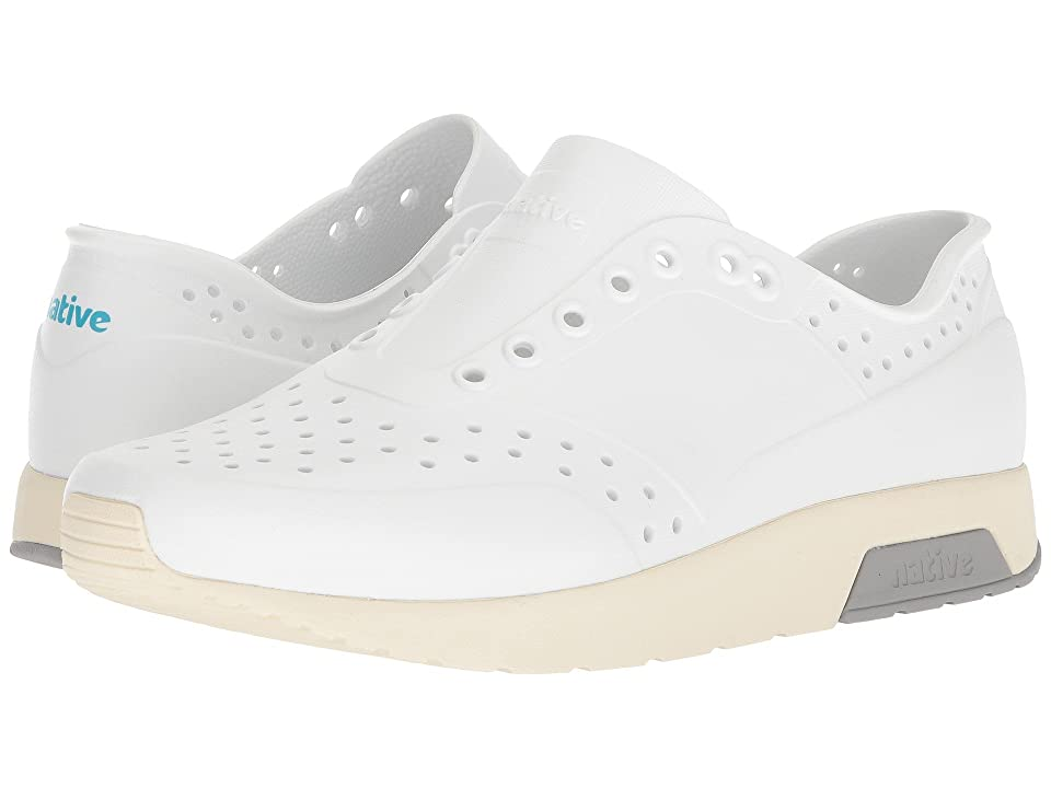 Native Shoes Lennox (Shell White/Bone White/Pigeon Grey) Athletic Shoes