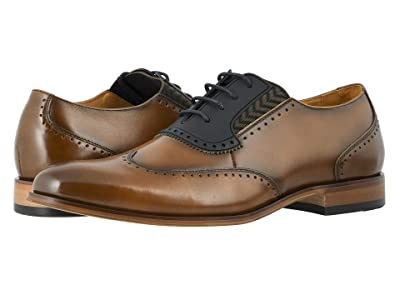 Stacy Adams Sullivan Wing Tip Oxford (Cognac) Men