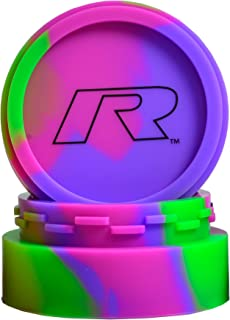 R Series V2 Non-Stick Platinum Cured Silicone Container (Large, Purple/Green/Pink)