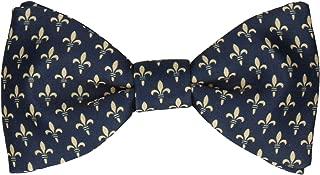 HRH Fleur-de-Lis Bow Ties, Pre-Tied & Self-Tying Bow Ties