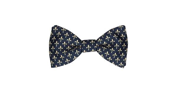 Mrs Bow Tie HRH Fleur-de-Lis Bow Ties Pre-Tied /& Self-Tying Bow Ties