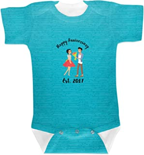 RNK Shops Happy Anniversary Baby Onesie (Personalized)