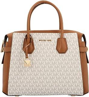 Michael Kors Mercer Logo Ladies Small Leather Satchel Bag