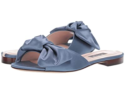 SJP by Sarah Jessica Parker Finn (Blue Satin) Women