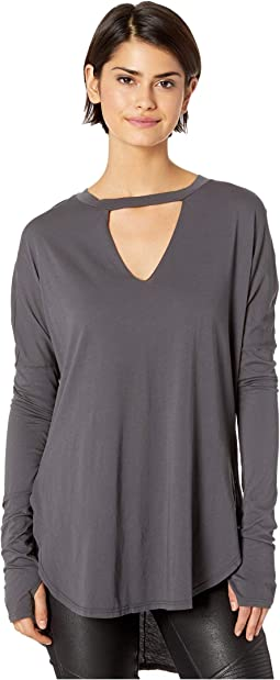 Chance Long Sleeve Top with Thumbholes