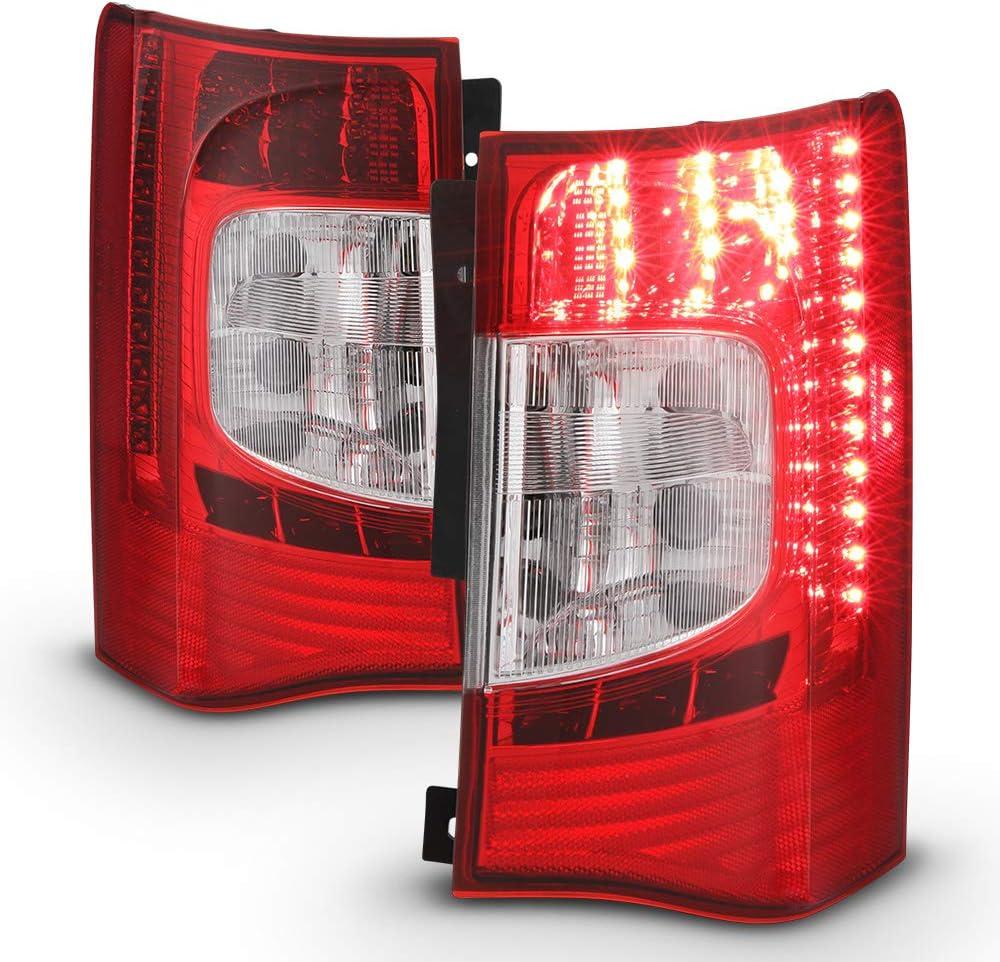 ACANII - For 2011-2016 Chrysler Town Country 期間限定で特別価格 LED R Tail 豪華な Lights