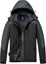 wgyc Mens Wool Heavy Coat Zip Up Hooded Winter Mens Leisure Jacket Warm And Windproof
