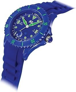 40Nine Women's Japanese-Quartz Watch with Silicone Strap, Blue, 20 (Model: 40NINE03/NAVY20)