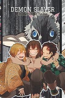 Demon Slayer 1 Composition Notebook: manga anime Demon Slayer Kimetsu no Yaiba, 1 2 3 4 5 Lined paper demon slayer vol 1 2...